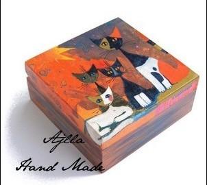 szkatułka koty