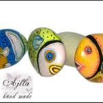 rybki malowane ręcznie