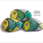 komplet-kamyki-malowane-rybki