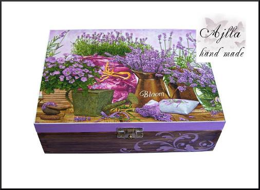 pudełko drewnine